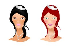 Brides Royalty Free Stock Photos