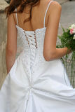 Brides back Royalty Free Stock Image