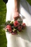 Brides bouquet. Wedding Bouquet flowers - series stock photo