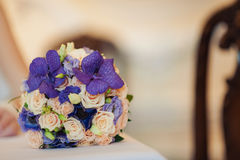The brides bouquet royalty free stock image