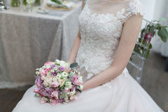 Brides Bouquet Royalty Free Stock Images