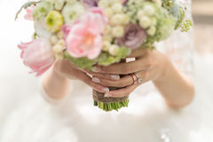 Brides Bouquet Royalty Free Stock Photo