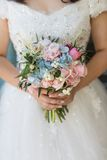Brides Bouquet Stock Photo