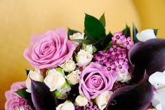 Brides Bouquet closeup Stock Photography