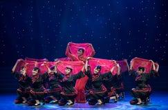 Brides- Chinese Folk Dance Stock Photography