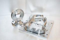 Brides de moule métallique et d'acier. Meunerie Image stock