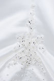 Brides dress decoration Stock Photos