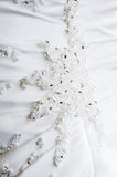 Brides dress detail Stock Photography