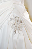 Brides dress details Stock Image