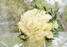 Brides flower arrangement Stock Image