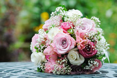 Brides Flowers Royalty Free Stock Images