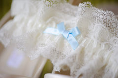Brides garter Royalty Free Stock Photography