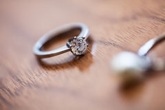 The brides jewelry Royalty Free Stock Photo