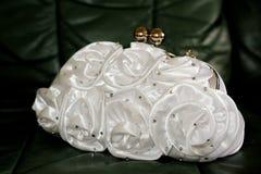 Brides makeup bag Royalty Free Stock Photos