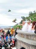 Brides parade 2010 Stock Photography