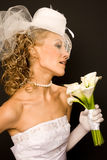 Brides profile Royalty Free Stock Photos