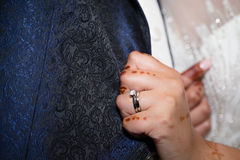 Brides ring Royalty Free Stock Photography