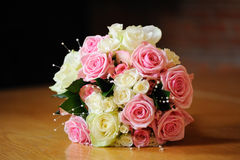 Brides Roses Stock Images