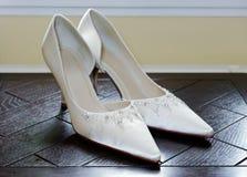 Brides Shoes Royalty Free Stock Photos
