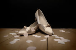 Brides shoes Royalty Free Stock Photography