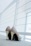 Brides shoes Royalty Free Stock Image