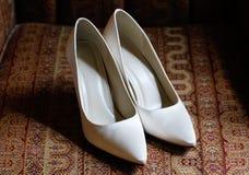 Brides shoes Stock Image