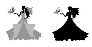 Brides. Royalty Free Stock Photography