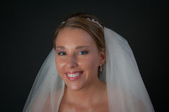 Brides smile Royalty Free Stock Images