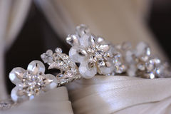 Brides tiara Stock Images