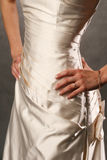 Brides waist Royalty Free Stock Photography