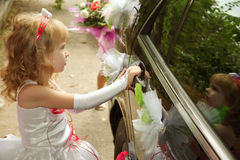 Bridesmaid Royalty Free Stock Photo