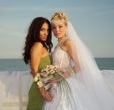 Bridesmaid Royalty Free Stock Photography