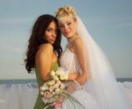 Bridesmaid stock image