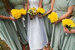 bridesmaid Photo libre de droits