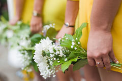 bridesmaid Photographie stock libre de droits
