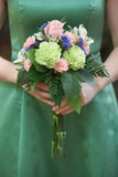 Bridesmaid bouquet Royalty Free Stock Photography