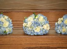 Bridesmaid flower bouquet Royalty Free Stock Photography
