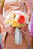 Bridesmaid Flowers Bouquet Royalty Free Stock Image