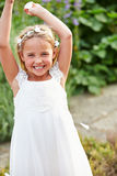 Bridesmaid Having Fun At Wedding Royalty Free Stock Photography