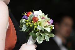 Bridesmaid's bouquet Stock Photo