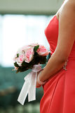 Bridesmaid's bouquet Stock Photos