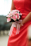 Bridesmaid's bouquet Royalty Free Stock Image