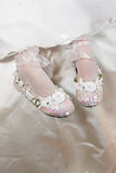 Bridesmaid Shoes Royalty Free Stock Photos