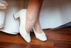 Bridesmaid shoes Royalty Free Stock Images