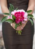 Bridesmaid wedding bouquet Royalty Free Stock Photos