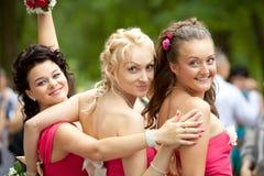 Bridesmaids Stock Photo