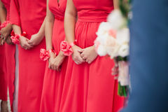 bridesmaids Photographie stock