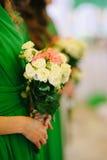 bridesmaids fotografie stock