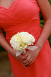 Bridesmaids bouquet. Stock Photo
