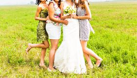 Bridesmaids Royalty Free Stock Photos
